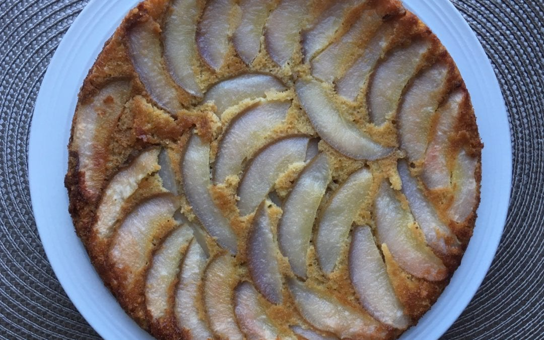 Pear or Apple Cake