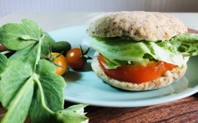 5-Minute Power Breakfast Sandwich
