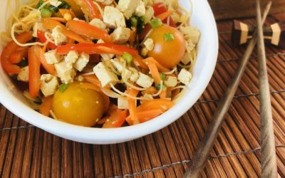 South Asian Noodle Salad