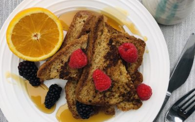 Potato-Millet French Toast