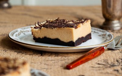 Peanut Butter Brownie Slices