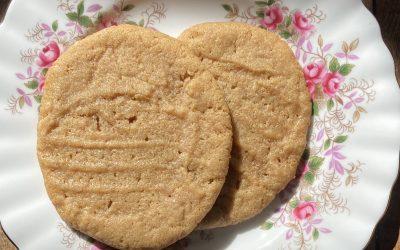Gluten-Free, Dairy-Free Peanut Butter Cookies